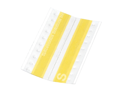 Yellow Double Splice Tape